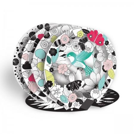 3D Color Bulle - Le Colibri