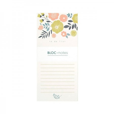 Bouquet Notepad