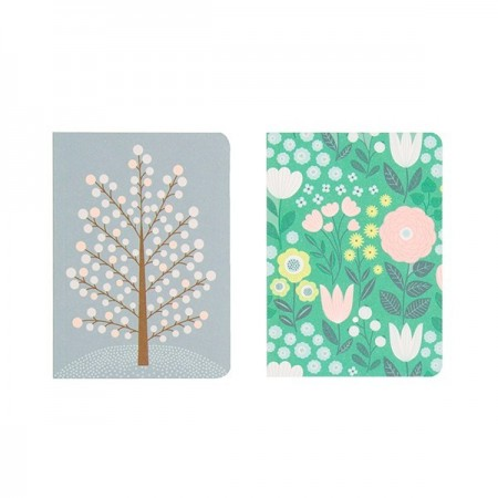 Duo carnet Buisson/Bouquet