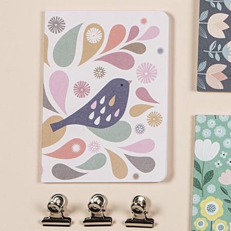 Duo carnet Tableau/Oiseau