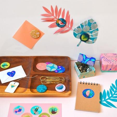 Loisir créatif Origami Turquoise