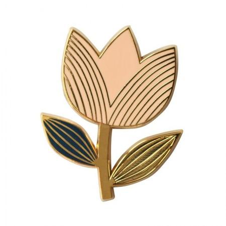 Pin's Tulipe Rose