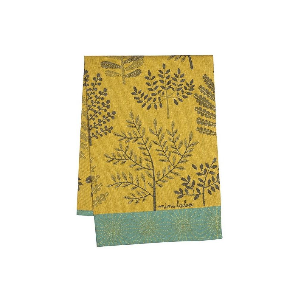 Forest tea towel