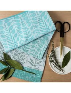 Branch tea towel