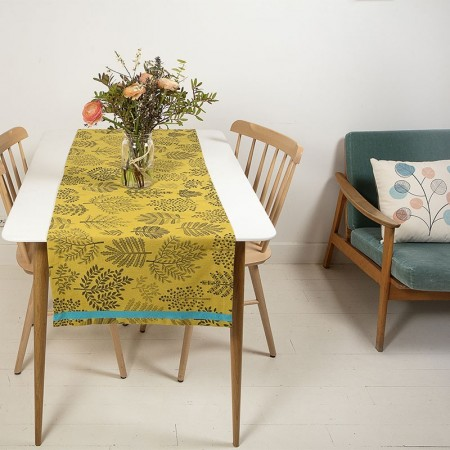 Forest table runner