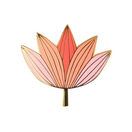 Lotus pink Pin's