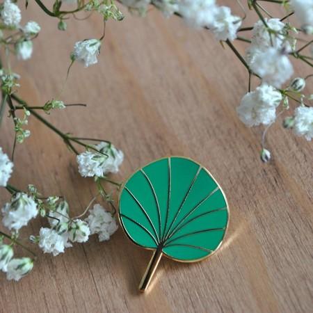 Pin's Pilea Vert