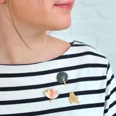 Golden Bird Pin's