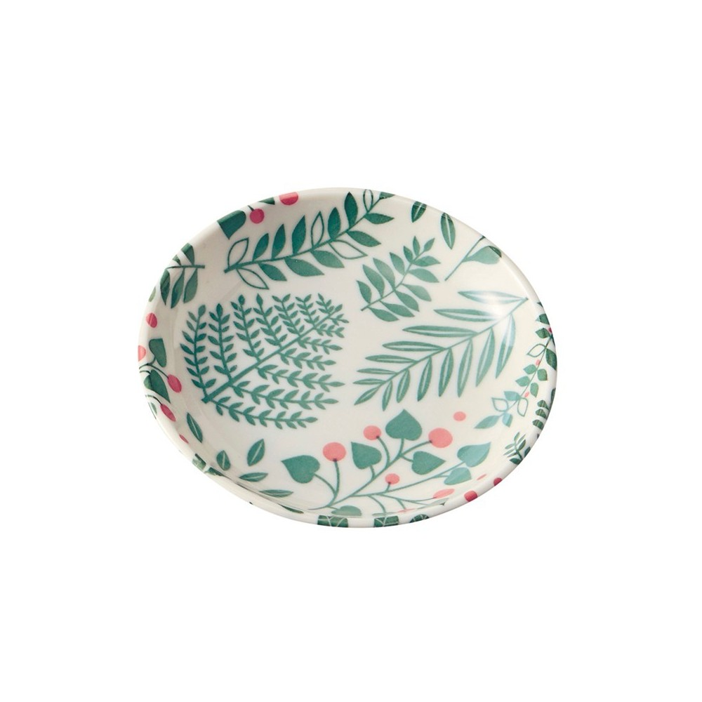 Coupelle en porcelaine motif Buisson