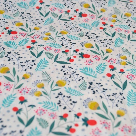 Susan green pattern fabric