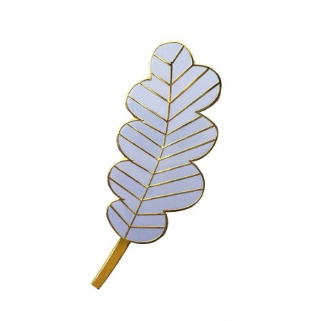 Large Lavande Leaf Pin's