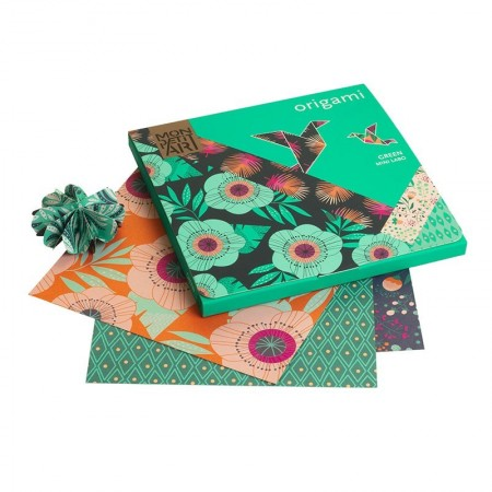 Origami Green Creative hobby Kit