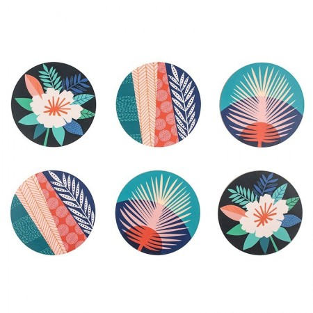Set of 6 coasters