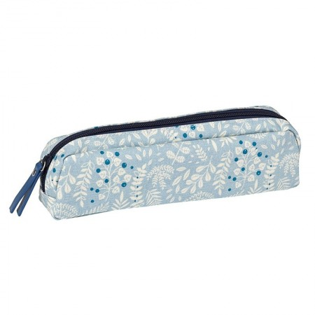 Coated pencil case with Tropic pattern