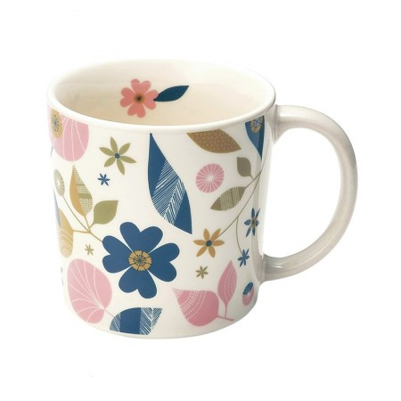 Mug en porcelaine motif Fifties