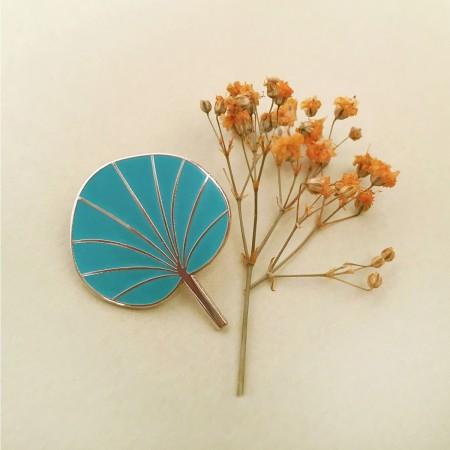Pin's Pilea Turquoise