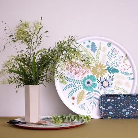 Herbarium round Tray - 35 cm -