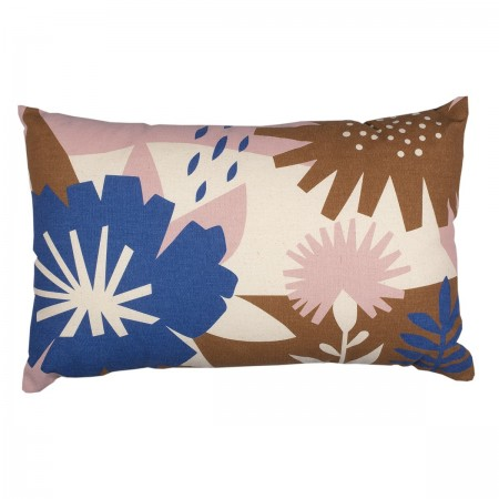 Cotton Blue Papercut Cushion