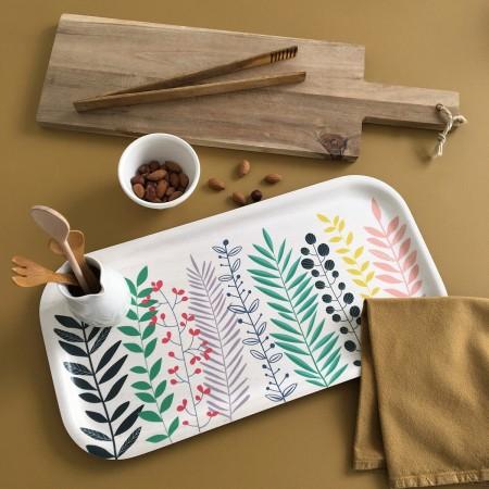 Rectangular Garden Birch Tray - 43 x 22 cm -