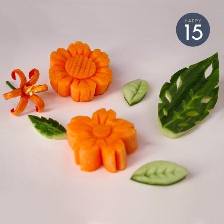 Atelier découpe de légumes x Naomi Cuisine