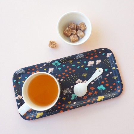Lullaby rectangular Brich Tray