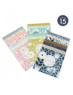 Pochettes papiers Origami Oslo