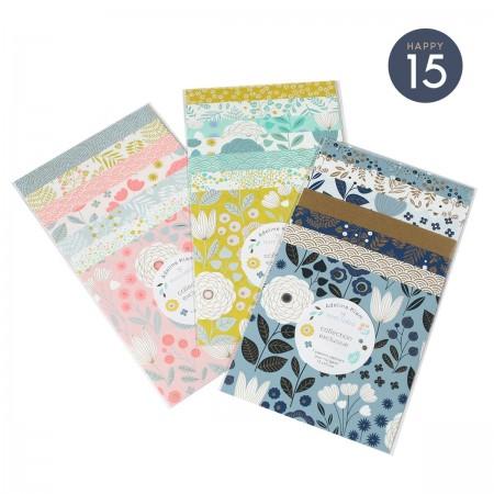 Pochettes papiers Origami Litchi