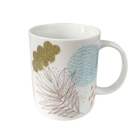 Mug en porcelaine motif Poésie