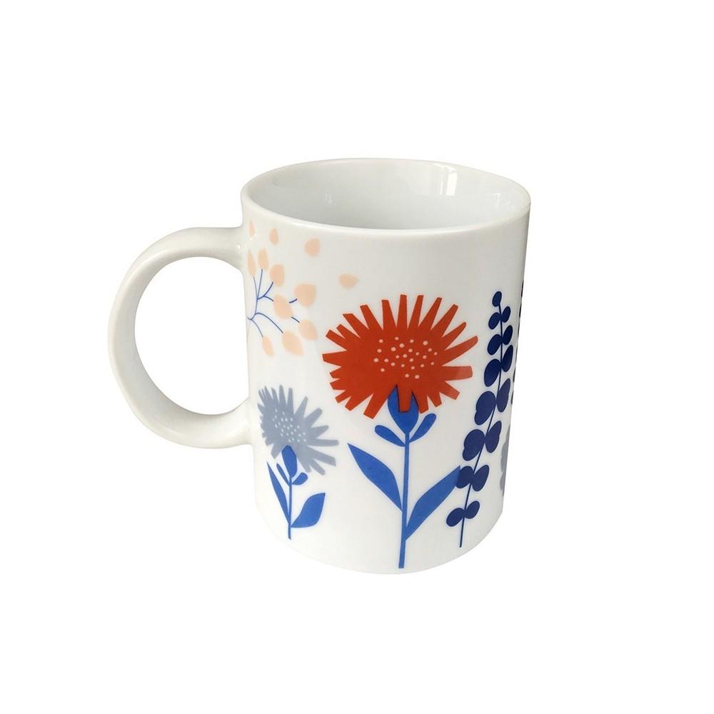 Mug en porcelaine motif Papercut