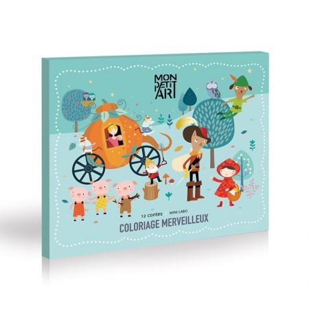 Coloriage Merveilleux - 12 Contes
