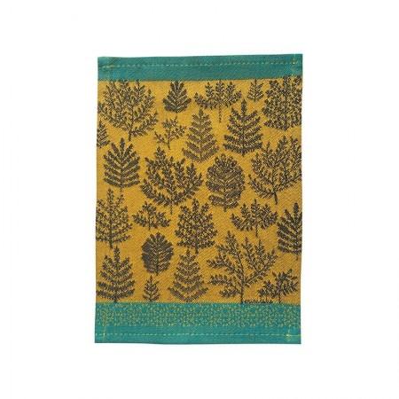 Jacquard tapas woven Branches pattern