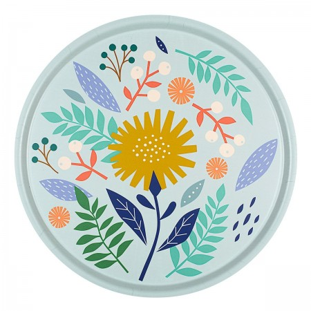 Dahlia round Tray - 45 cm -