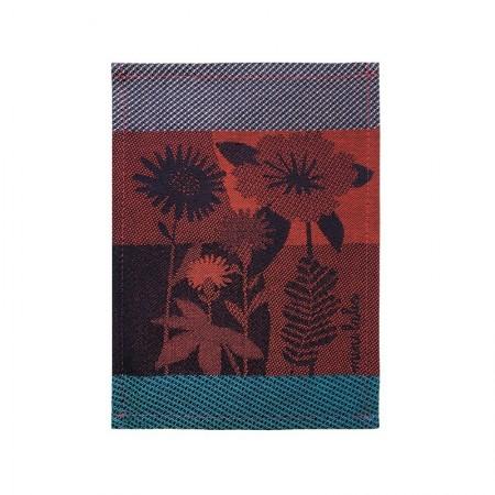 Jacquard tapas woven Bouquet pattern