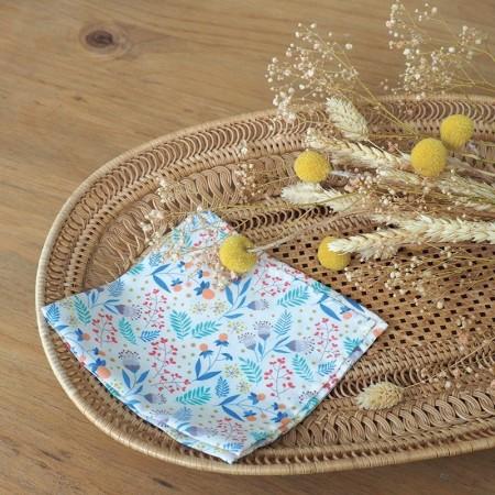 Mouchoir lavables en coton motif Susan