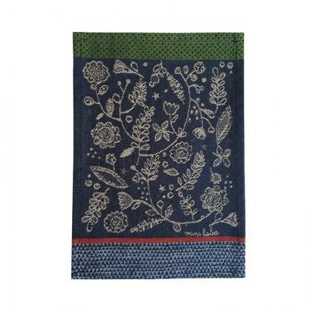 Jacquard tapas woven sketch pattern