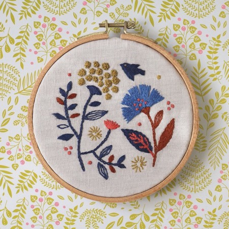Embroidery pattern Eyelet pattern