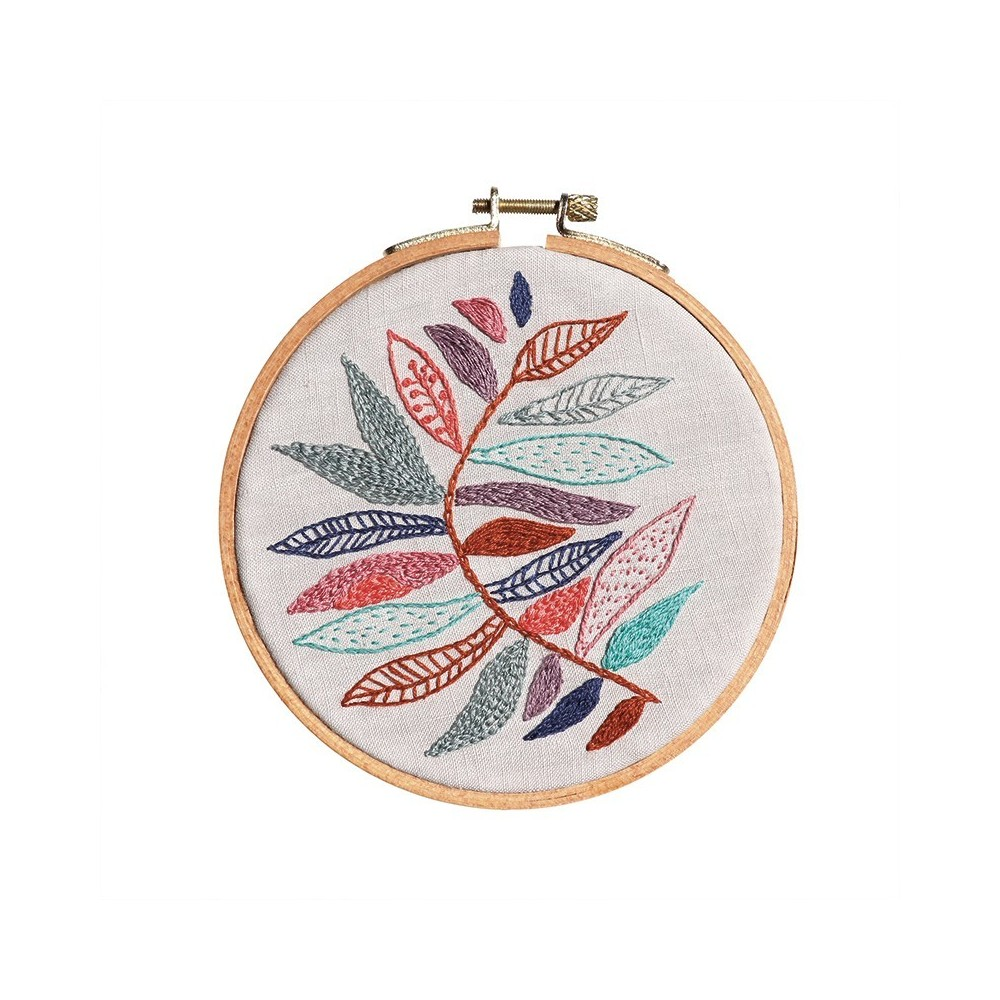 Embroidery pattern Branch pattern