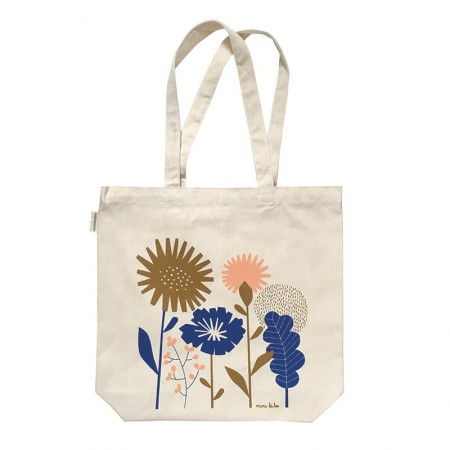 Papercut bag in organic cotton