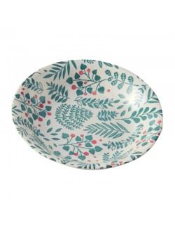 Coupelle en porcelaine motif Buisson
