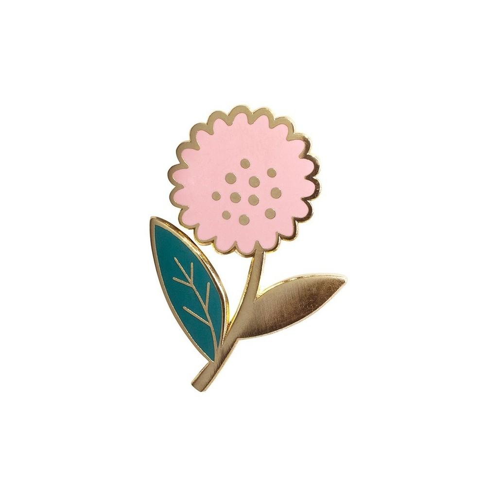 Pin's Dalhia Rose