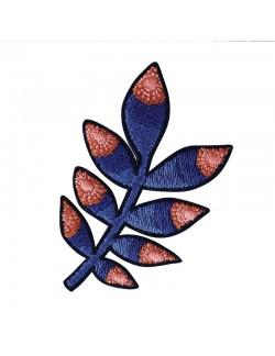 Patch brodé thermocollant motif Tropic Bleu
