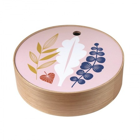 Round oak box Bouquet size S