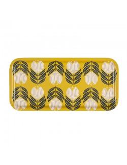 Lemon Tulip Tray - 28x14cm -