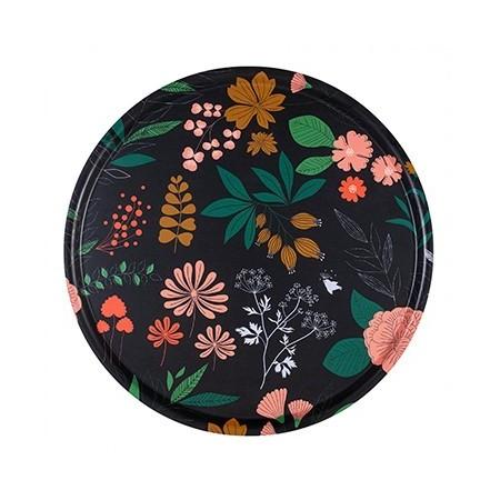Herbarium round Tray - 45 cm -