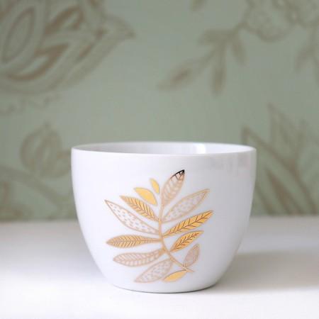 Porcelain bowl Rameau
