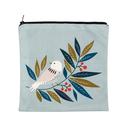Clutch bag with Bird motif