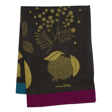 Orchard tea towel