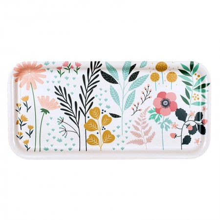 White Garden Tray - 28x14cm -