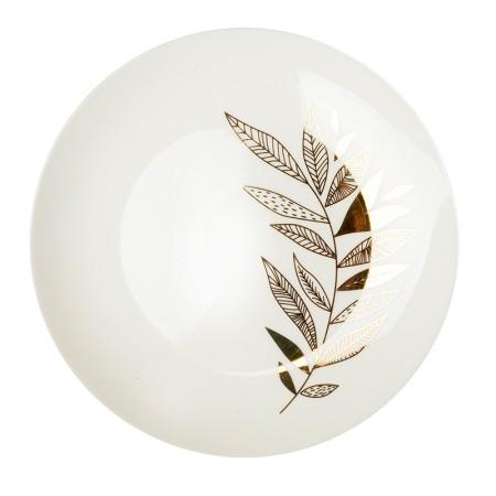 Assiette en porcelaine Rameau