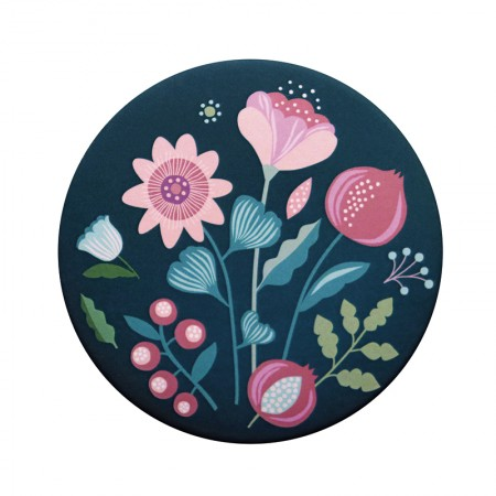 Passion Flower Mirror